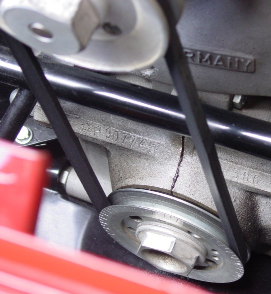 porsche engine serial number location